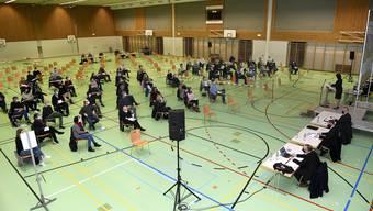 Die Gemeindeversammlung in Mellingen stimmt hohen Investitionen zu.