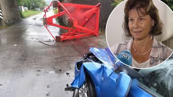Verena Späni wurde beim Unfall nicht verletzt