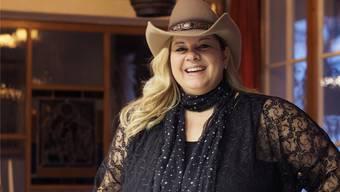 Gemeindeschreiberin Daniela Hunziker, alias Countrysängerin Desert Rose.