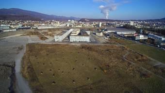 Nördlich der bestehenden Bauten (im Bild links der Überbauung) will die Grundeigentümerin Terrana AG Rüschlikon die nächste Bauetappe realisieren.