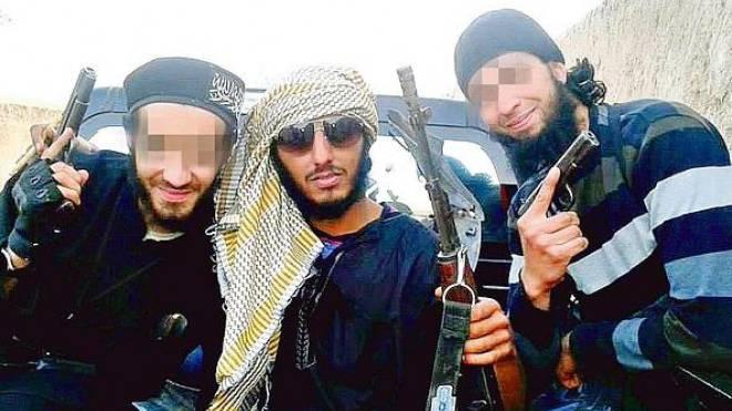 Dschihadisten: Abou Suleyman Suissery (links), Mourad Fares (rechts). Foto: HO