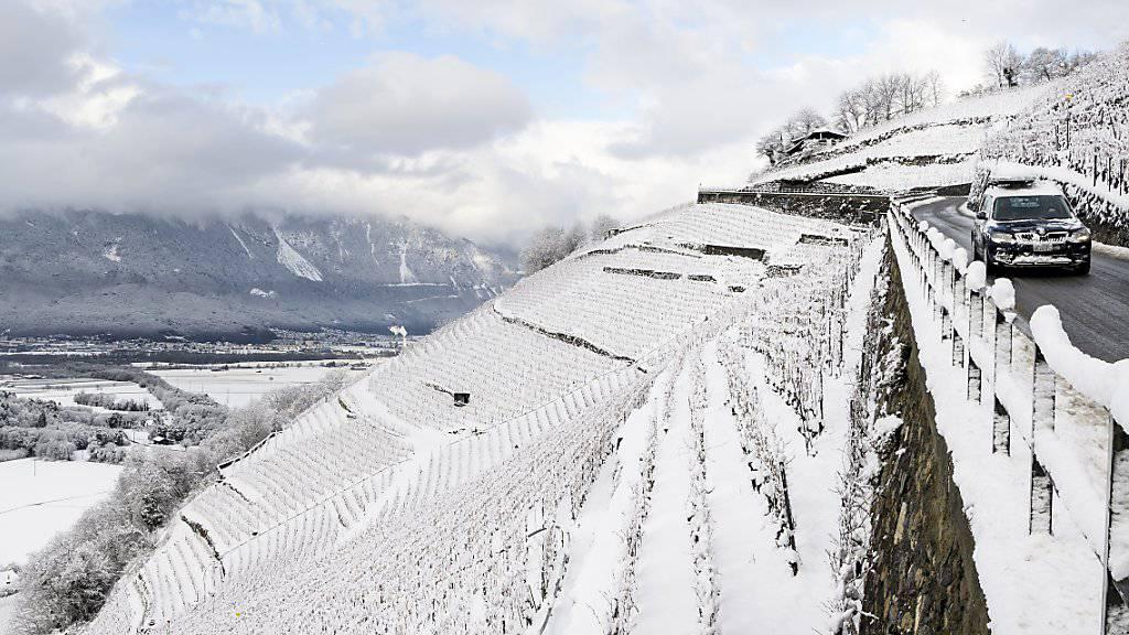 Der diesjährige Dezember wird als schneereich und kühl in Erinnerung bleiben, als richtiger Wintermonat eben. (Archiv)