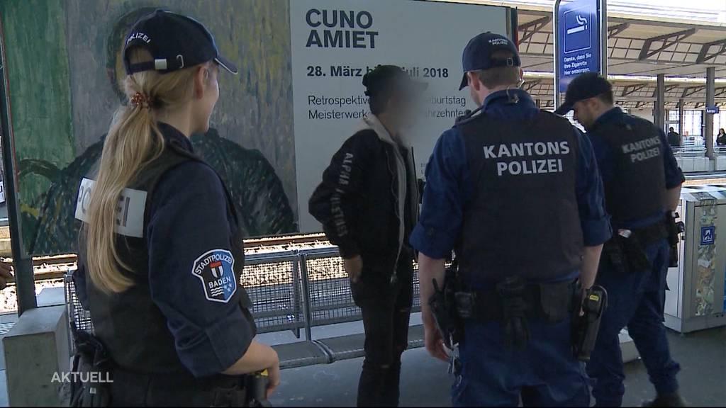 Keine Quittungen für Polizeikontrollen im Aargau