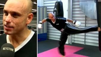 Abdel will mit 42 Jahren Kickbox-Weltmeister werden