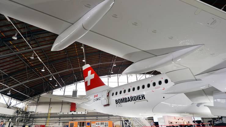 Der Vorzeige-Flieger von Bombardier soll der Swiss Treibstoff und damit Geld sparen, nun machen die Triebwerke grosse Probleme.
