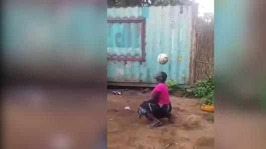 Jonglier-Talent aus Afrika: Da staunt sogar Trump!