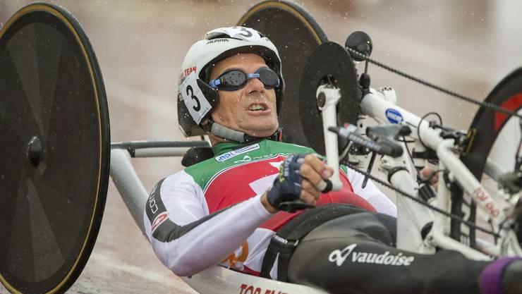 Die Schweiz mit Heinz Frei holt zum Auftakt Bronze in der Staffel.