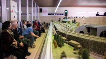 Ausstellung der Solothurner Eisenbahn Amateure in Rüttenen