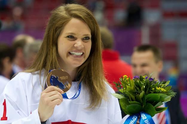 Schellings grösster Erfolg: die Olympia-Bronzemedaille in Sotschi.