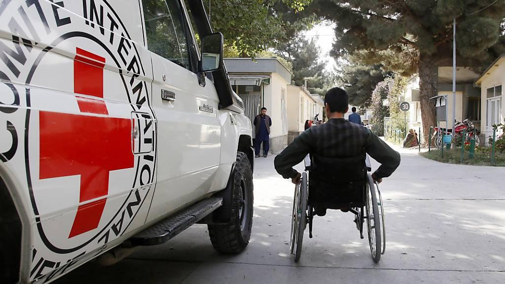 Taliban geben wieder Sicherheitsgarantien für IKRK-Helfer