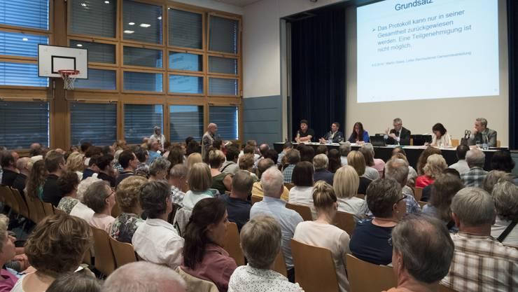 Auch in Oberwil-Lieli ist am Freitag Gemeindeversammlung. (Archivbild)