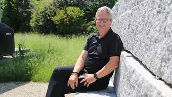 Stellt sich als Pfarrer der reformierten Kirche in Frick im September zur Wiederwahl: Johannes Siebenmann. Dennis Kalt