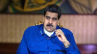 Präsident Maduros Thron wackelt. Aus Sicht der venezolanischen Opposition war das Attentat vom Samstag in Caracas inszeniert.