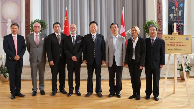 Für eine gesunde Zukunft: China trifft Bad Zurzach in der Oberen Kirche.
