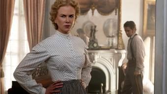 Im Mädchenpensionat: Die Anwesenheit des verwundeten Soldaten McBurney (Colin Farrell) weckt in Martha (Nicole Kidman) lange verdrängte Lust. AP/Focus Features