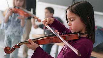 Ein Musikschulgesetz soll die musikalische Bildung im Kanton Zürich fördern und regeln. (Symbolbild)