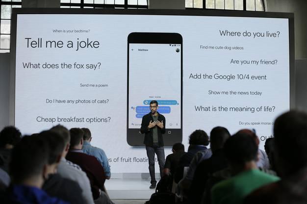 Google lanciert ein eigenes Smartphone.