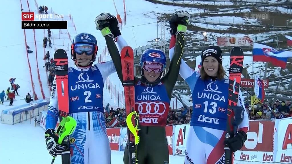 Langläufer schwächeln — Skifahrer geben Gas