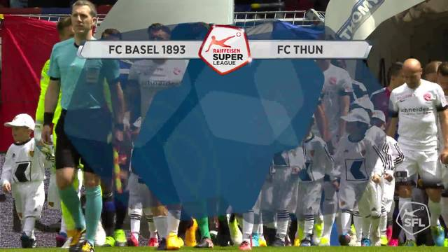 Ganzes Spiel: Basel - Thun, 13.05.17