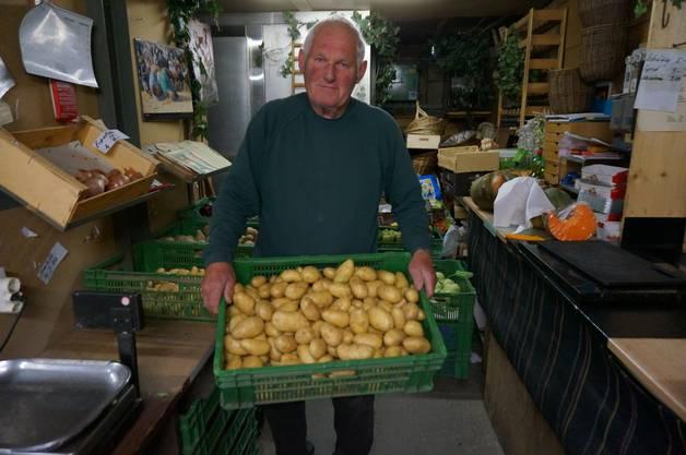 Herbst ist Kartoffelerntezeit