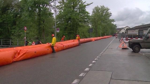 Hochwasser-Lage im Mittelland hängt von Bieler Schleuse ab