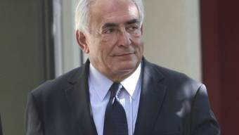Dominique Strauss-Kahn äussert sich nur gegenüber der Justiz (Archiv)