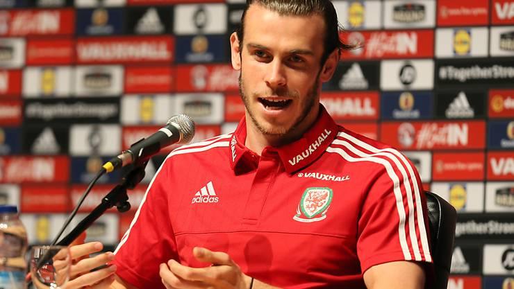 Gareth Bale ist für Wales zum Zuschauen verdammt (Archiv)