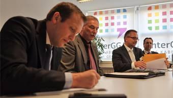 Reinach im November 2013: Die Inter-GGA stellt die neue Providerin Quickline, damals Finecom, vor – bis heute ist der Wechsel nicht in trockenen Tüchern.