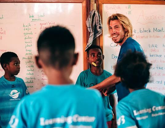 Jonas Müller hat in Westpapua die Hilfsorganisation Child Aid Papua mit einem Bildungs- und Umweltzentrum aufgebaut.