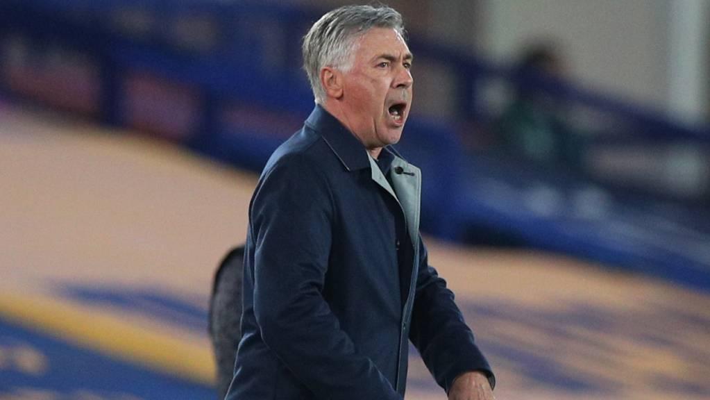 Trainer Carlo Ancelotti hat mit Everton den perfekten Saisonstart hingelegt