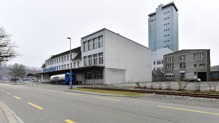So präsentiert sich die bauliche Situation an der Industriestrasse 154 aktuell.