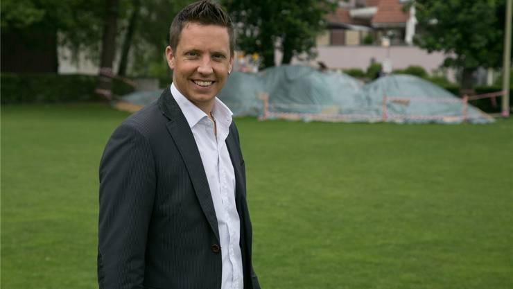 Der OK-Präsident: Christian Imark.