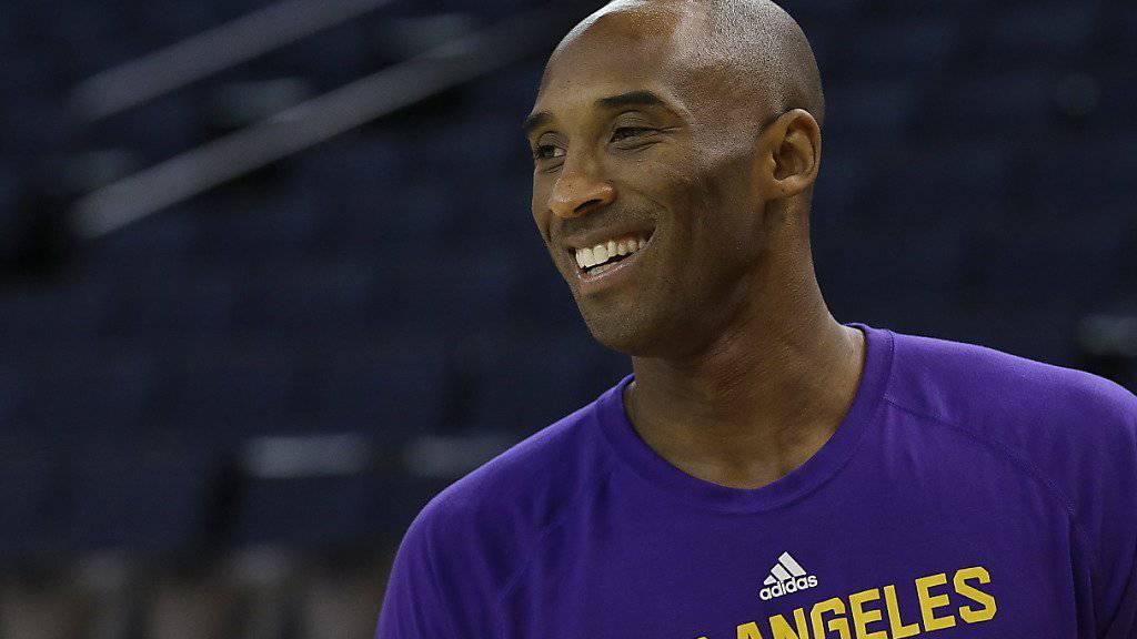 Kobe Bryant ist nicht mehr lange zu bewundern