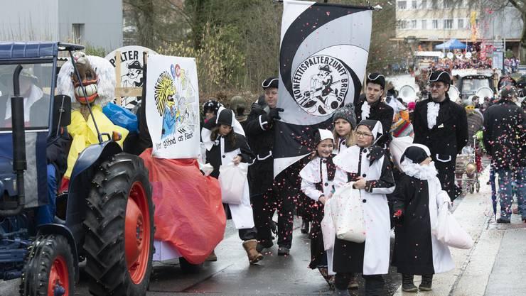 In diesem Jahr ist der Brugger Fasnachtsumzug gestrichen.