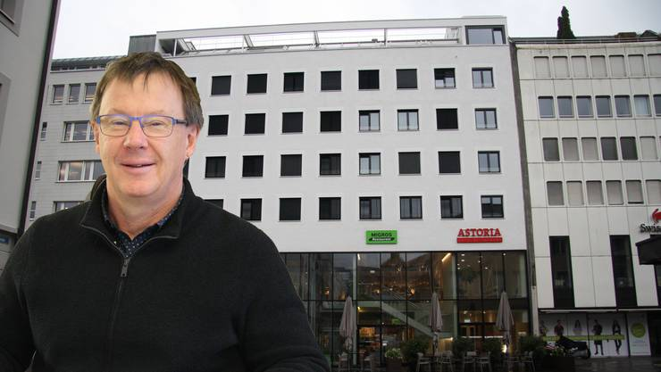 Tourismusdirektor Jürgen Hofer hofft auf Ersatz für das Hotel Astoria.