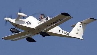 Kunstflugzeug Cri-Cri wird von vier Elektromotoren angetrieben