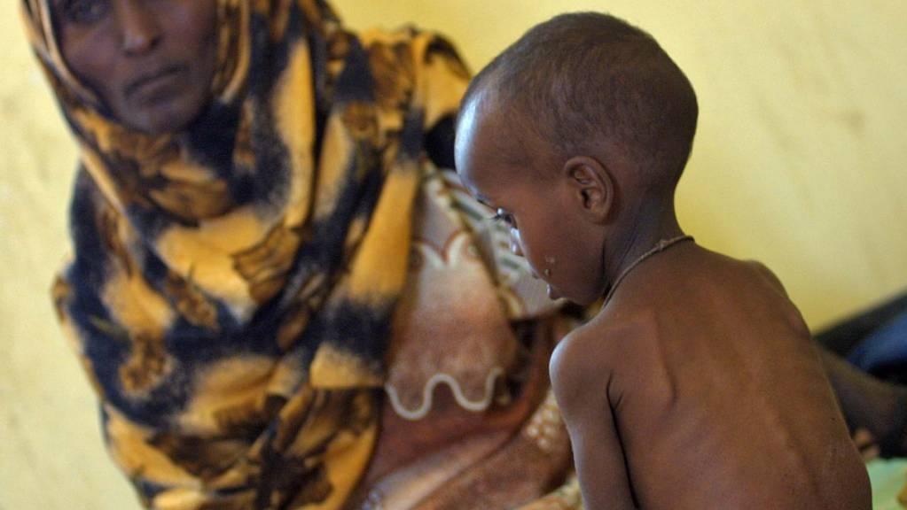 Die Zahl der weltweit hungernden Menschen ist von 785 Millionen im Jahr 2015 auf derzeit 822 Millionen gestiegen. (Symbolbild)