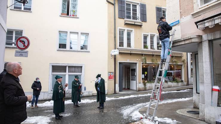 An Hilari wird in Solothurn die Rathausgasse umbenannt.