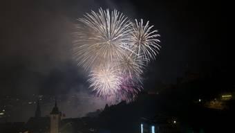 Stadtfest Baden: Spektakuläres Feuerwerk zum Abschluss