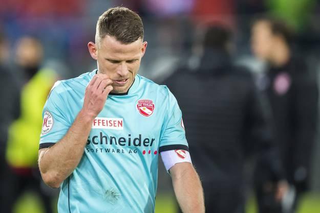Letzte Saison noch Captain des FC Thun, jetzt vertragslos: Stefan Glarner.