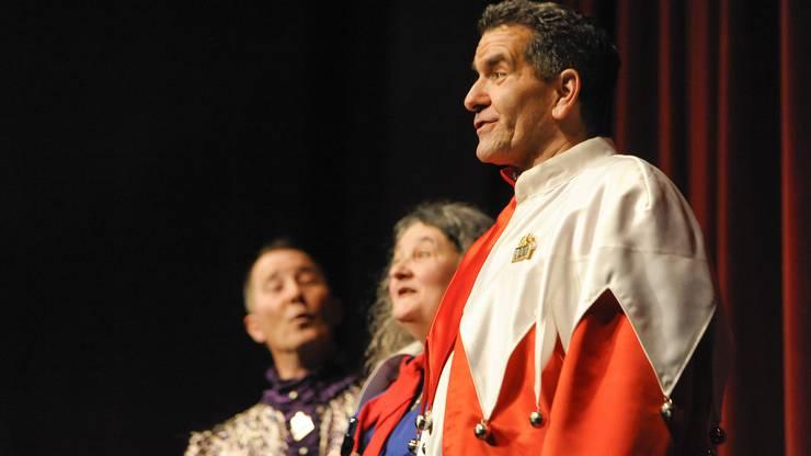 Premiere der Vorfasnachtsveranstaltung s'Läggerli im Theater Scala.