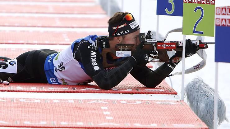 Benjamin Weger brachte die Schweiz in exzellente Position