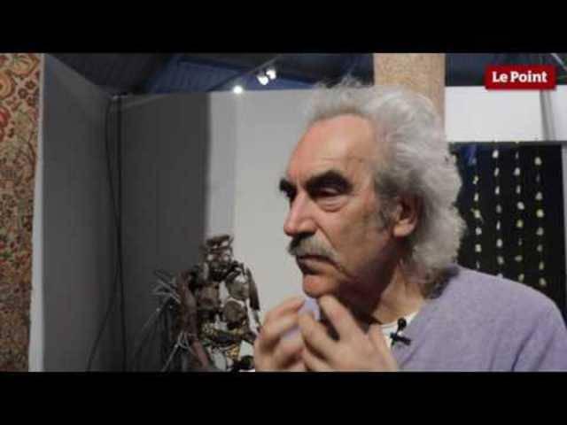 Bewegte Kunst: Dieses Video zeigt eine Ausstellung von Gilbert Peyre im Dezember 2016 in Paris.