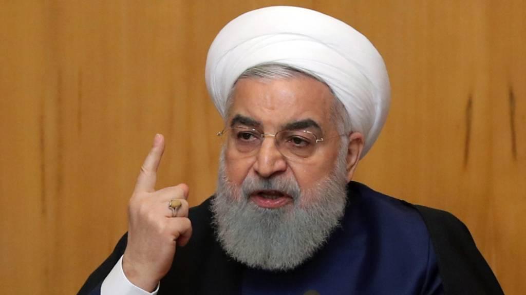 Irans Präsident fordert globale Zusammenarbeit