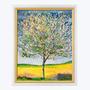 """Eines der Kunstwerke von Ferdinand Hodler: Der """"Blühender Kirschbaum""""."""
