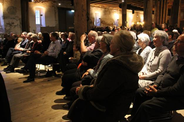 Am Neujahrsempfang im Brugger Salzhaus hatte Frau Stadtammann Barbara Horlacher ihren ersten offiziellen Auftritt. Musikalisch umrahmt wurde der Anlass von Take Four, Kammerjazz.