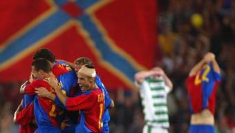 Hier qualifizierte sich der FCB zum ersten Mal für die Champions League