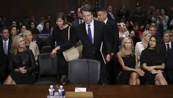 Der US-Senat macht den Weg frei für die Abstimmung über die Berufung von Brett Kavanaugh, des umstrittenen Kandidaten fürs oberste Gericht.