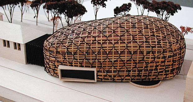 Das Ursprungsprojekt Kuppel der Lost Architekten.