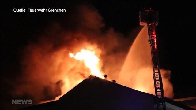 Hotelbrand in Grenchen fordert drei Verletzte